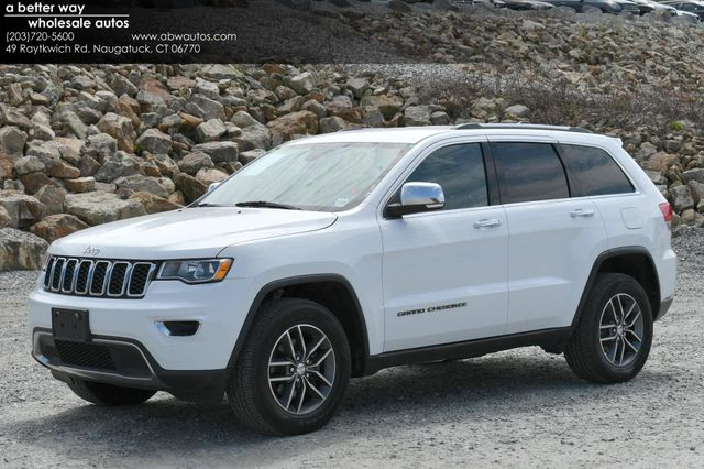 2018 Jeep Grand Cherokee Limited 4WD Naugatuck, Connecticut