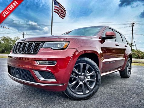2018 Jeep Grand Cherokee HIGH ALTITUDE LEATHER NAV PANO 1 OWNER CARFAX in Plant City, Florida