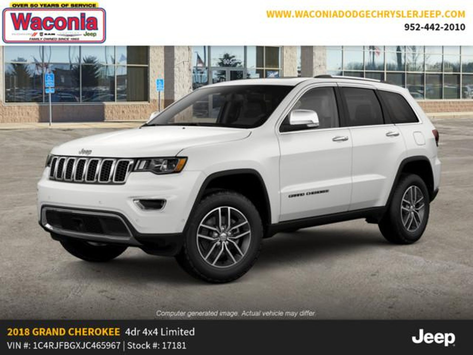 2018 Jeep Grand Cherokee Limited Towing Wire Harness Hook Up In Victoria Mn