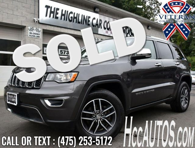 2018 Jeep Grand Cherokee Limited Waterbury, Connecticut