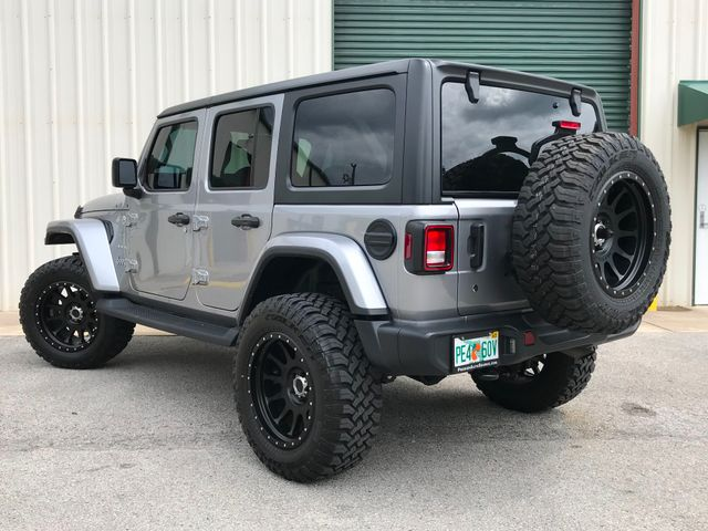 2018 Jeep JL Wrangler Unlimited Sahara 3''Lift, Method wheels, 35's, DV8 Bumper in Jacksonville , FL 32246