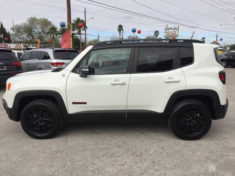 2018 Jeep Renegade Trailhawk  Brownsville TX  English Motors  in Brownsville, TX