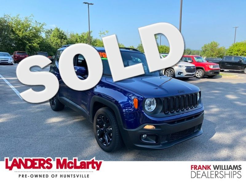 2018 Jeep Renegade Altitude | Huntsville, Alabama | Landers Mclarty DCJ & Subaru in Huntsville Alabama