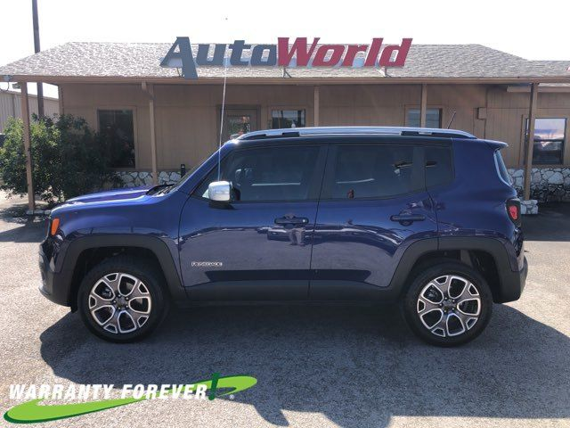 2018 Jeep Renegade: Changes, Design, Features, Price >> 2018 Jeep Renegade Limited 4x4 Marble Falls Tx Auto