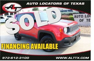 2018 Jeep Renegade Sport   Plano, TX   Consign My Vehicle in  TX
