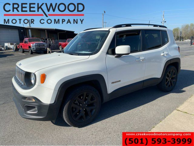 2018 Jeep Renegade Latitude 30mpg Low Miles Financing Warranty White