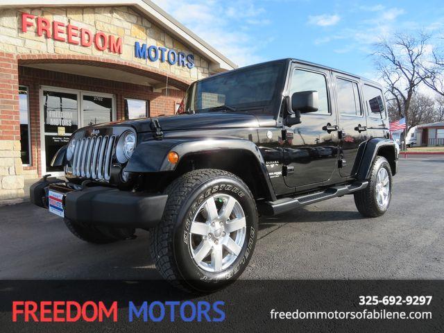 2018 Jeep Wrangler Unlimited Sahara 4x4   Abilene, Texas   Freedom Motors  in Abilene,Tx Texas