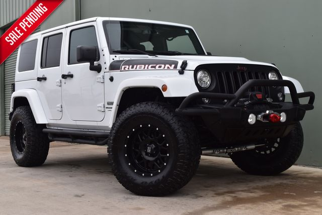 2018 Jeep Wrangler JK Unlimited Lifted Rubicon Recon | Arlington, TX | Lone Star Auto Brokers, LLC-[ 4 ]