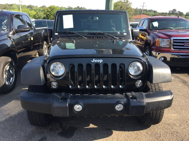 2018 Jeep Wrangler Unlimited Sport - John Gibson Auto Sales Hot Springs in Hot Springs Arkansas