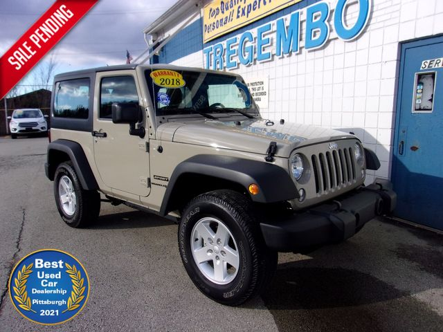 2018 Jeep Wrangler JK Sport S in Bentleyville, Pennsylvania 15314