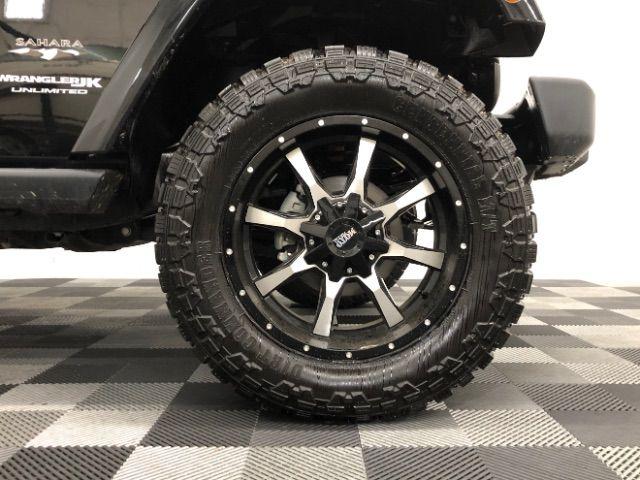 2018 Jeep Wrangler JK Unlimited Sahara 4WD LINDON, UT 11
