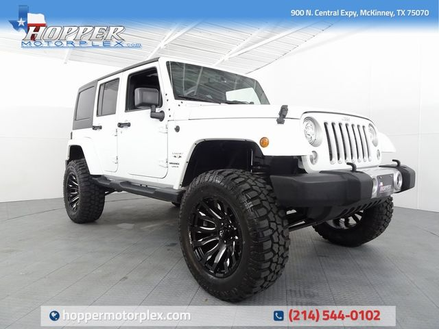 2018 Jeep Wrangler JK Unlimited Sahara LIFT/CUSTOM WHEELS AND TIRES
