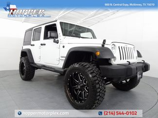 2018 Jeep Wrangler JK Unlimited Sport LIFT/CUSTOM WHEELS AND TIRES in McKinney, Texas 75070