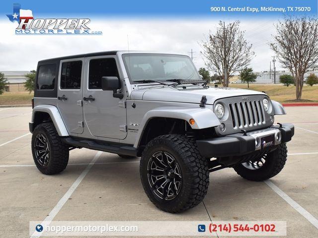 2018 Jeep Wrangler JK Unlimited Sahara NEW LIFT/CUSTOM WHEELS AND TIRES
