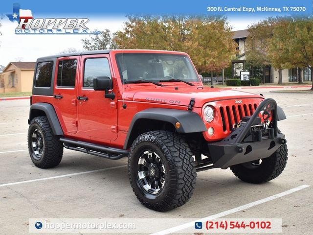 2018 Jeep Wrangler JK Unlimited Rubicon CUSTOM WHEELS AND TIRES
