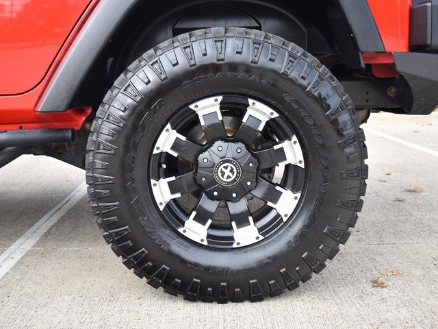 2018 Jeep Wrangler JK Unlimited Rubicon CUSTOM WHEELS AND TIRES in McKinney, Texas 75070