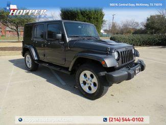 2018 Jeep Wrangler JK Unlimited Sahara CUSTOM LIFT/WHEELS AND TIRES in McKinney, Texas 75070