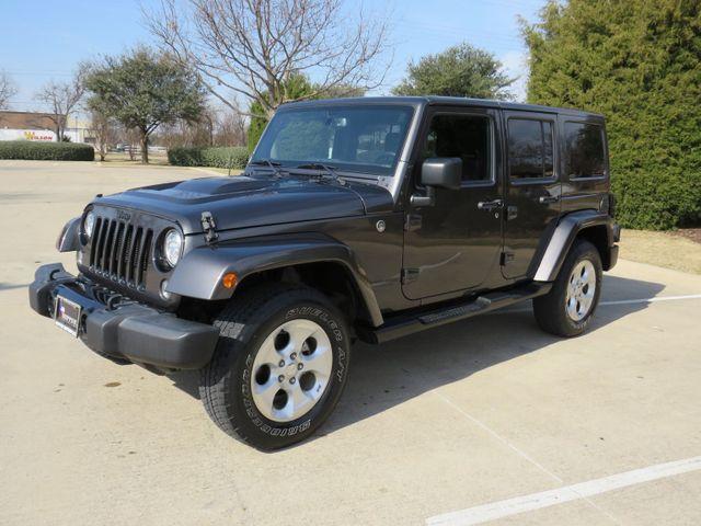 2018 Jeep Wrangler JK Unlimited Sahara in McKinney, Texas 75070