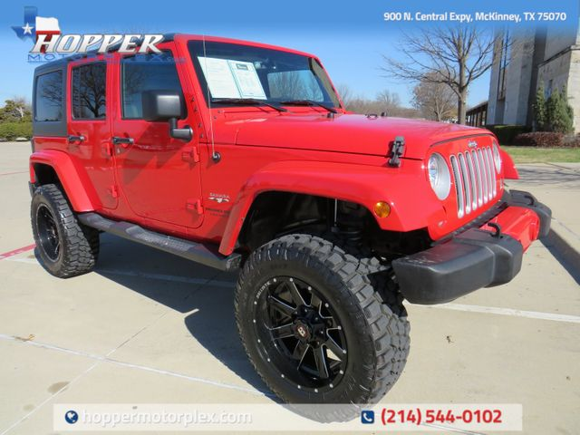 2018 Jeep Wrangler JK Unlimited Sahara NEW LIFT/CUSTOM WHEELS AND TIRES