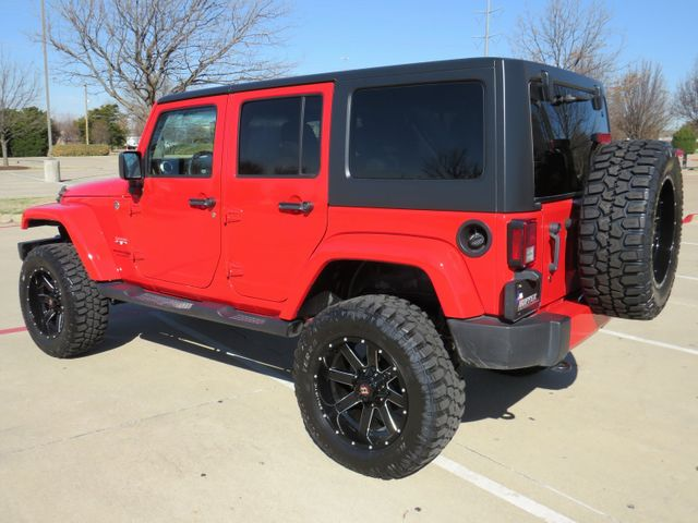 2018 Jeep Wrangler JK Unlimited Sahara NEW LIFT/CUSTOM WHEELS AND TIRES in McKinney, Texas 75070