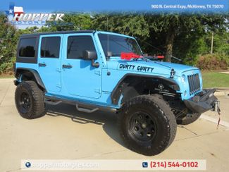 2018 Jeep Wrangler JK Unlimited Rubicon Custom Lift, Wheels and Tires in McKinney, Texas 75070