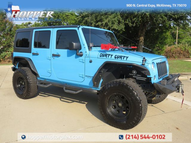 2018 Jeep Wrangler JK Unlimited Rubicon Custom Lift, Wheels and Tires