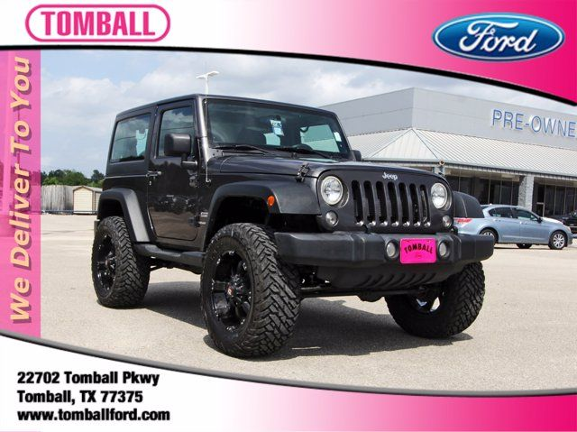 2018 Jeep Wrangler JK Sport S in Tomball, TX 77375