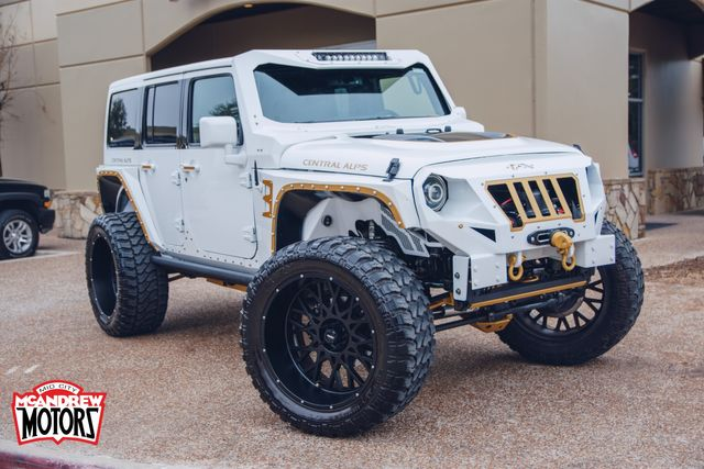 2018 Jeep Wrangler JK Unlimited Rubicon Central Alps Package