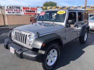 2018 Jeep Wrangler JK Unlimited Sport S in Arroyo Grande, CA 93420