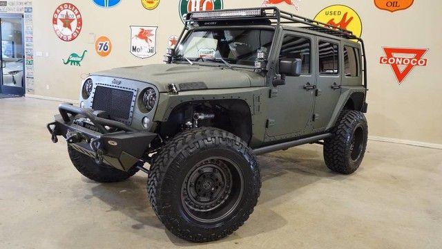 2018 Jeep Wrangler JK Unlimited Sport 4X4 KEVLAR FMJ,GOBI RACK,NAV,HTD LTH,ALPINE