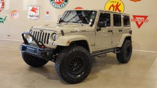 2018 Jeep Wrangler JK Unlimited Rubicon 4X4 LIFTED,BUMPERS,LED'S,NAV,HTD LTH in Carrollton, TX 75006