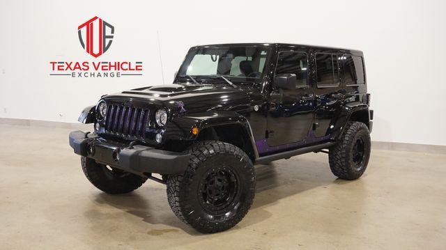 2018 Jeep Wrangler JK Unlimited Altitude 4X4 LIFTED,NAV,HTD LTH,49K