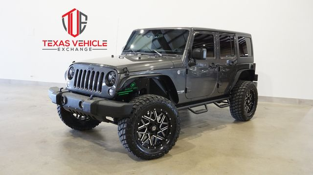 2018 Jeep Wrangler JK Unlimited Sport 4X4 AUTO,LIFTED,CLOTH,20IN WHLS,33K