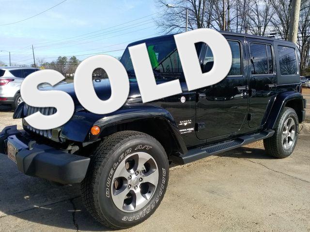 2018 Jeep Wrangler JK Unlimited Sahara Houston, Mississippi