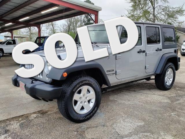 2018 Jeep Wrangler JK Unlimited Sport S Houston, Mississippi