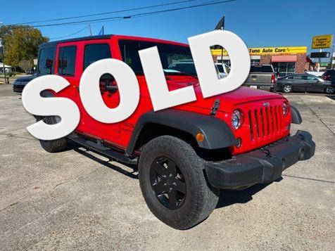2018 Jeep Wrangler JK Unlimited Sport in Lake Charles, Louisiana