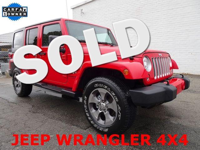 2018 Jeep Wrangler JK Unlimited Sahara Madison, NC 0