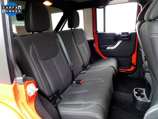 2018 Jeep Wrangler JK Unlimited Sahara Madison, NC 34