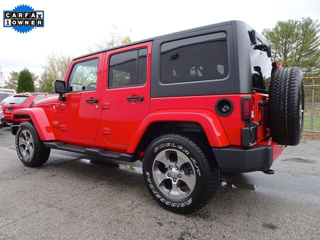 2018 Jeep Wrangler JK Unlimited Sahara Madison, NC 4