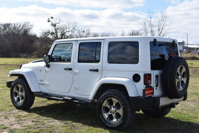 2018 Jeep Wrangler JK Unlimited Sahara in Marble Falls, TX 78654