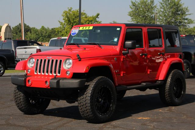 2018 Jeep Wrangler JK Unlimited Sahara 4x4 - LIFTED - BRAND NEW EXTRA$! Mooresville , NC 21