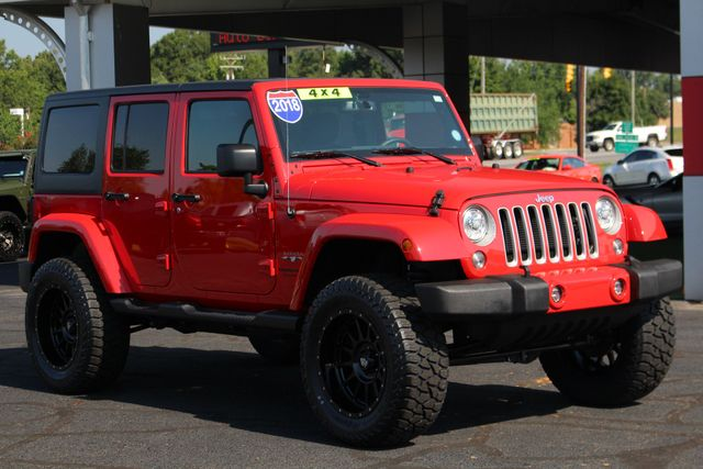 2018 Jeep Wrangler JK Unlimited Sahara 4x4 - LIFTED - BRAND NEW EXTRA$! Mooresville , NC 20