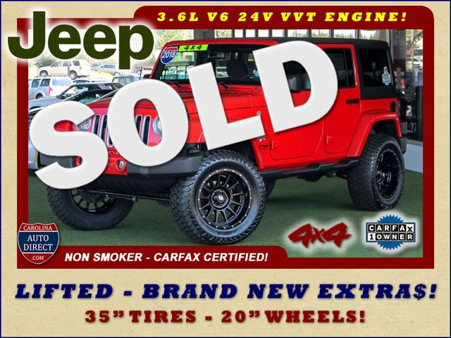 2018 Jeep Wrangler JK Unlimited Sahara 4x4 - LIFTED - BRAND NEW EXTRA$! Mooresville , NC 0