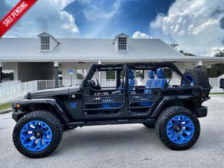 2018 Jeep Wrangler JK Unlimited CUSTOM LEATHER SAHARA HARDTOP NAV 22s DV8  Plant City Florida  Bayshore Automotive   in Plant City, Florida