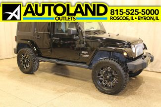 2018 Jeep Wrangler JK Unlimited Sahara in Roscoe IL, 61073