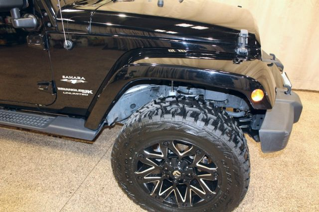 2018 Jeep Wrangler JK Unlimited Sahara in Roscoe, IL 61073