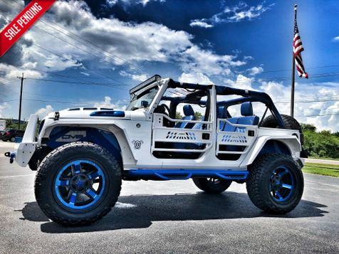 2018 Jeep Wrangler JK Unlimited RUBICON CUSTOM LIFTED LEATHER HARDTOP LOCKERS in , Florida