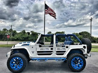2018 Jeep Wrangler JK UNLIMITED RUBICON LIFTED NAVIGATION 37s CUSTOM LEATHER   Florida  Bayshore Automotive   in , Florida