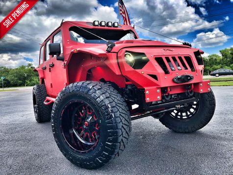 2018 Jeep Wrangler JK Unlimited EL DIABLO RUBICON RHINO LINED FAB FOURS GRUMPER in , Florida