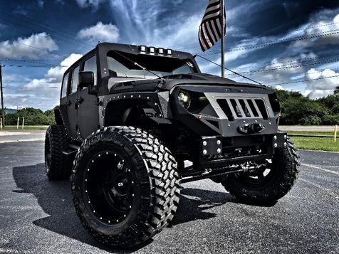 2018 Jeep Wrangler JK Unlimited RUBICON 4.88 ARMOR RHINO GRUMPER HARDTOP LEATHER in , Florida